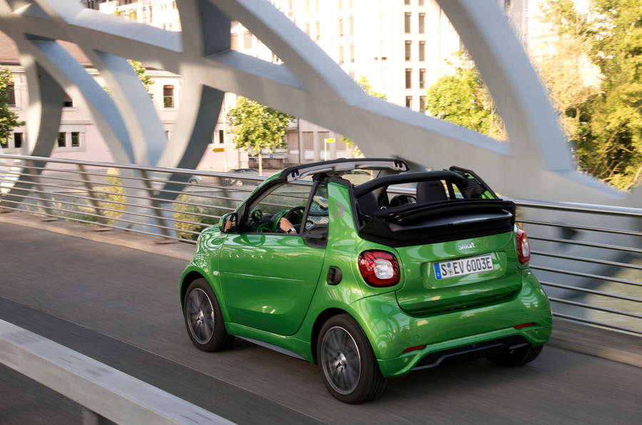 2017 Smart Fortwo Cabriolet First Drive Review Car And