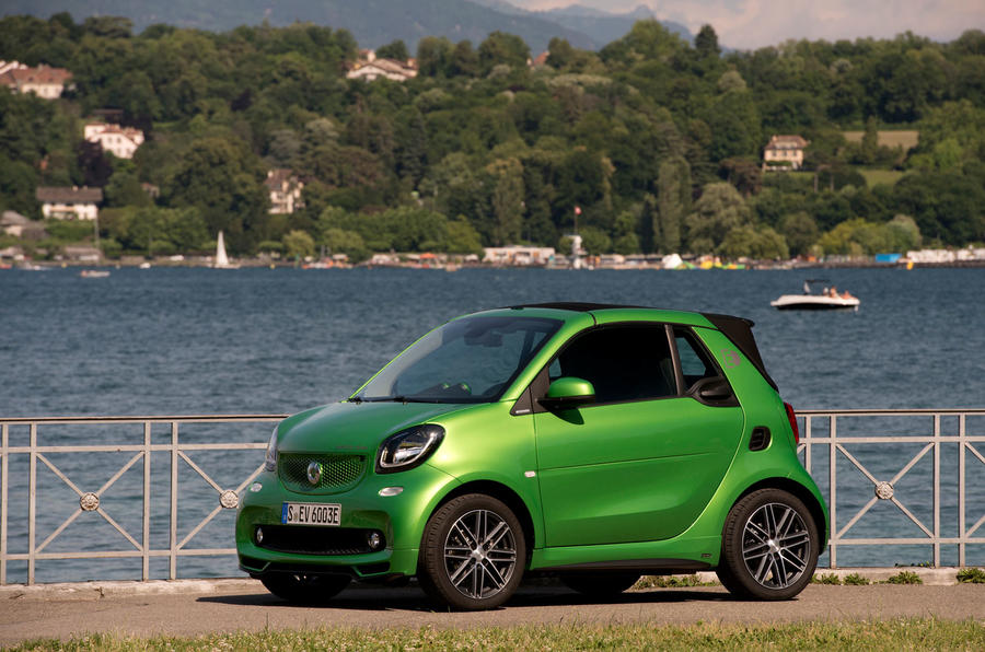 4 star Smart Fortwo Cabriolet Electric Drive