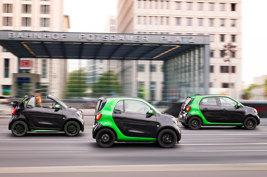 All Smart Cars Will Have EV Options in 2017
