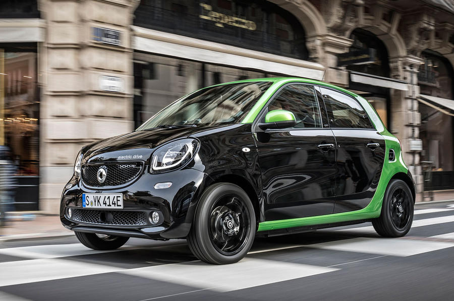 Smart Forfour Electric Drive 2017 review review  Autocar