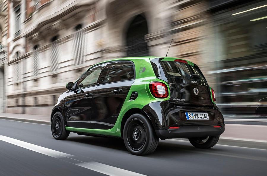 smart forfour electric drive 2017 review autocar. Black Bedroom Furniture Sets. Home Design Ideas