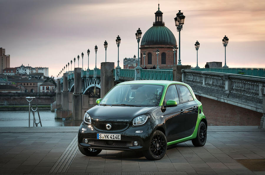 2017 Smart Forfour Electric Drive review