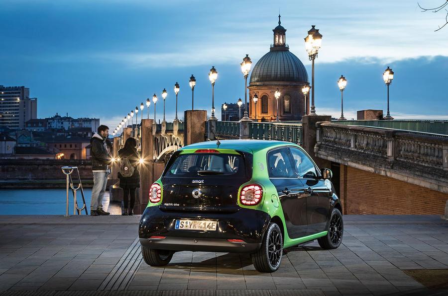 Smart Forfour Electric Drive 2017 Review Autocar