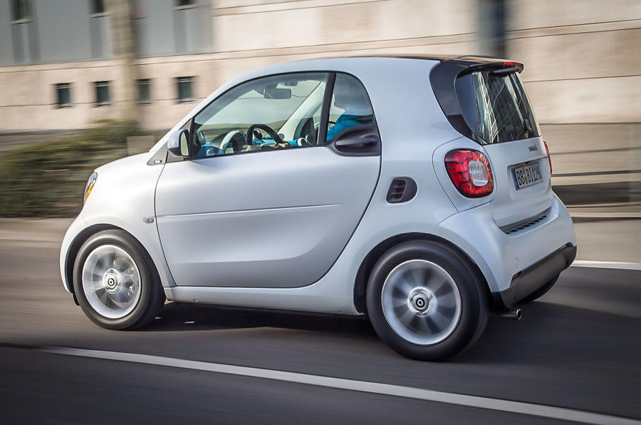 Smart Fortwo Twinamic rear
