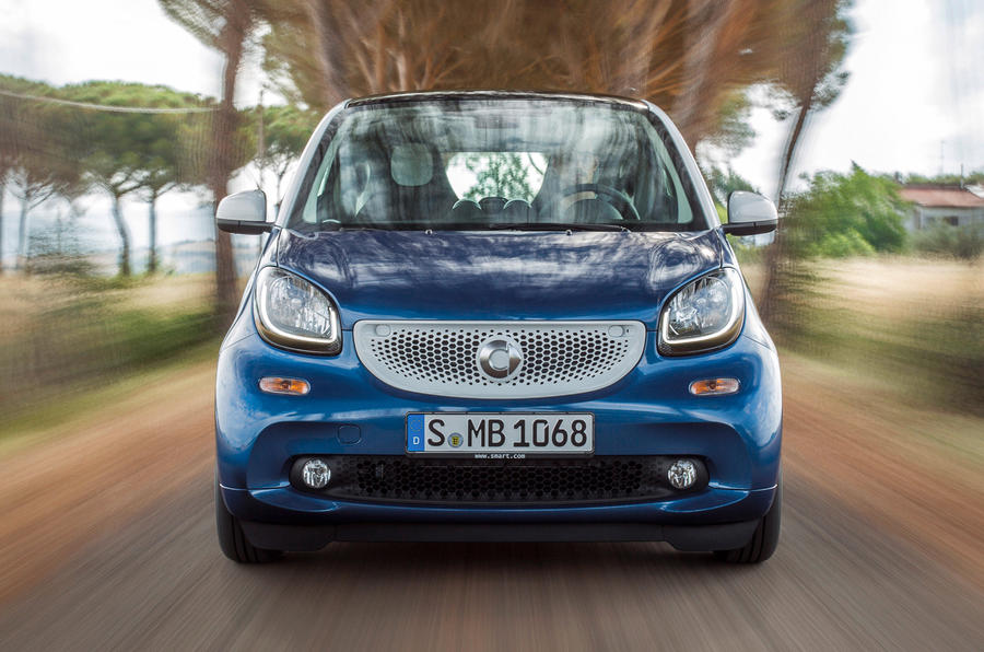 3.5 star Smart Fortwo