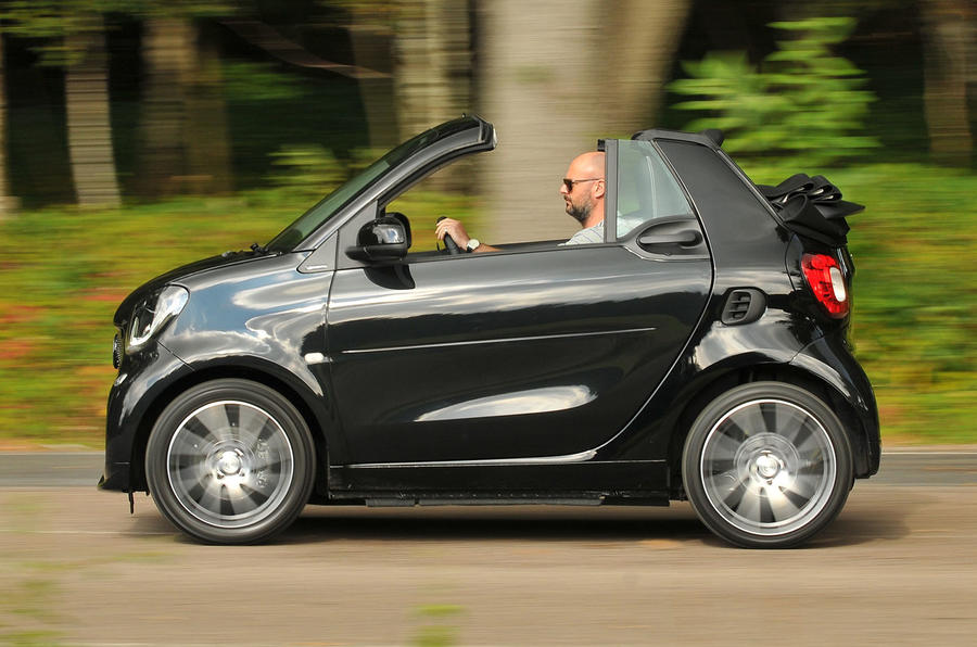 2016 smart fortwo brabus xclusive cabrio review autocar. Black Bedroom Furniture Sets. Home Design Ideas
