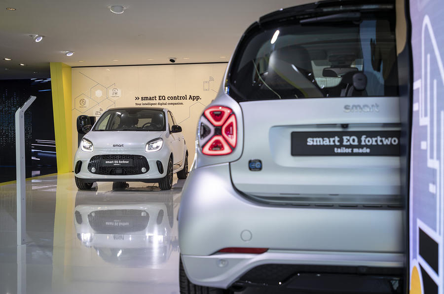 Smart EQ ForTwo at Frankfurt motor show - rear