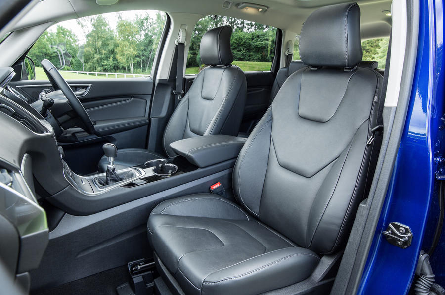 Ford S-Max front seats