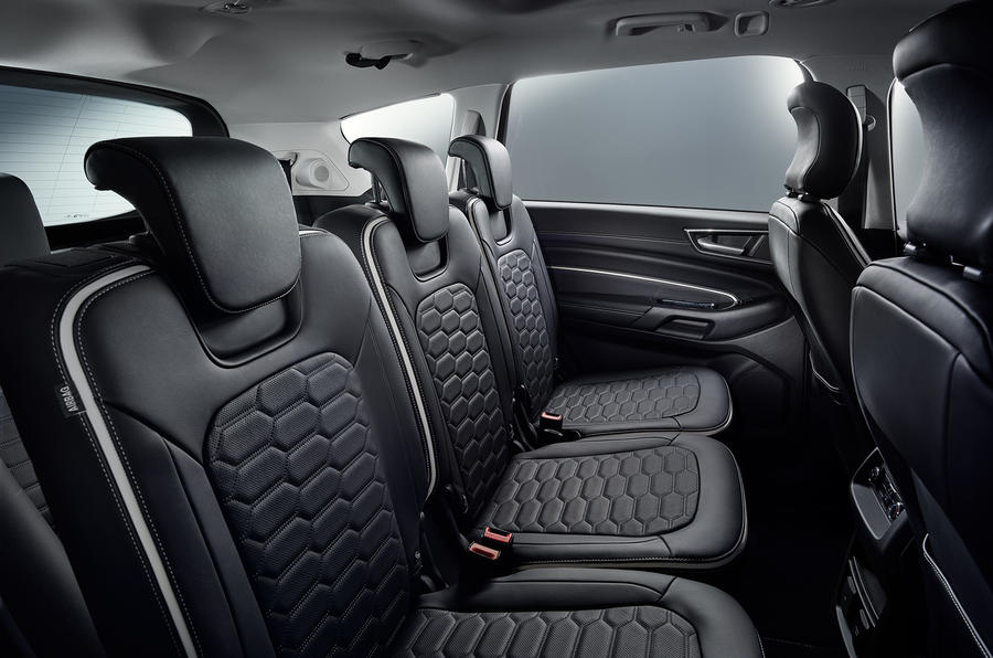 Ford S-Max Vignale rear seats