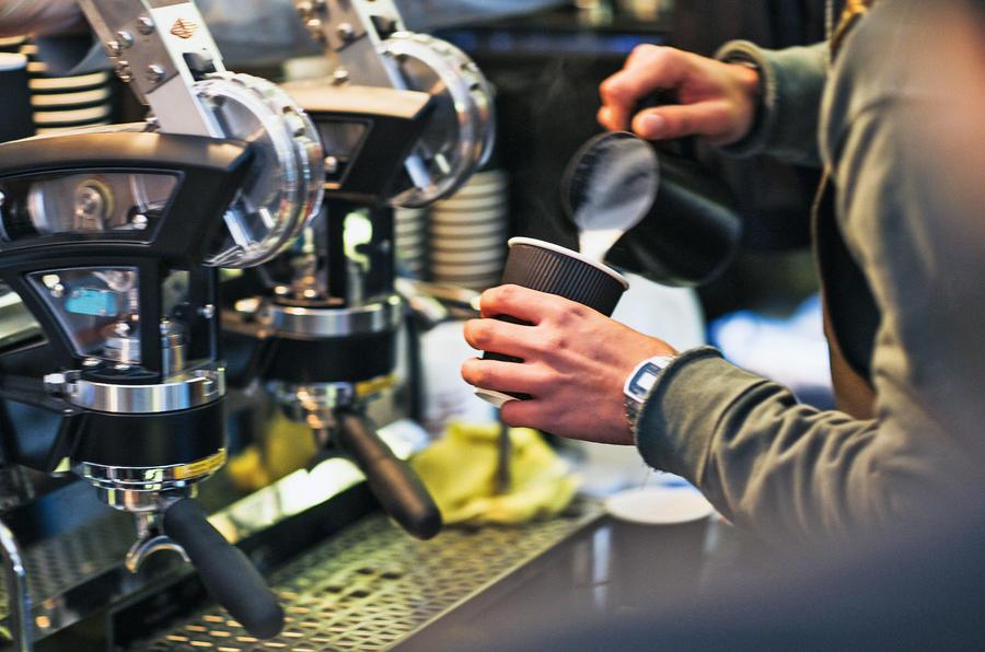 Caffeine and Machine barista