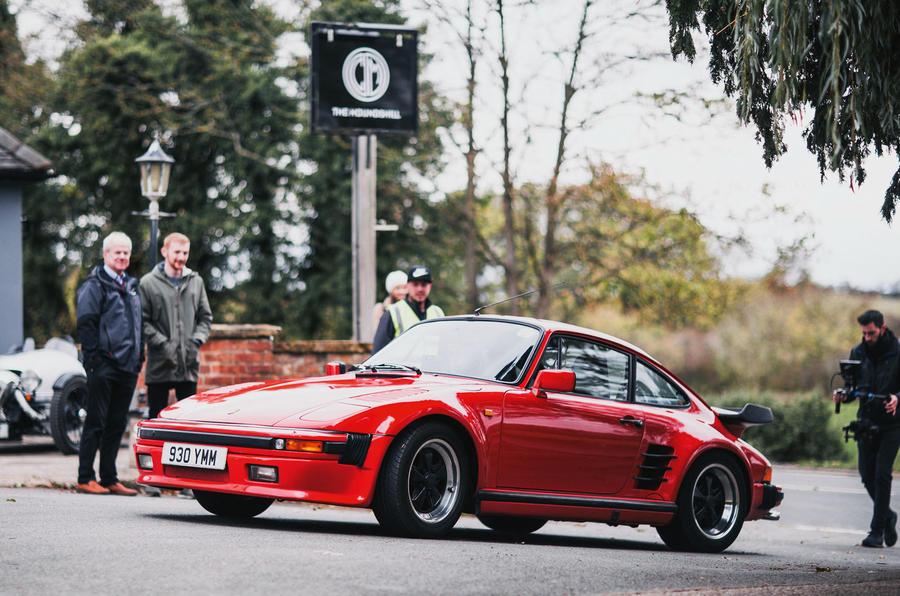 Caffeine and Machine Porsche 911 Rinspeed