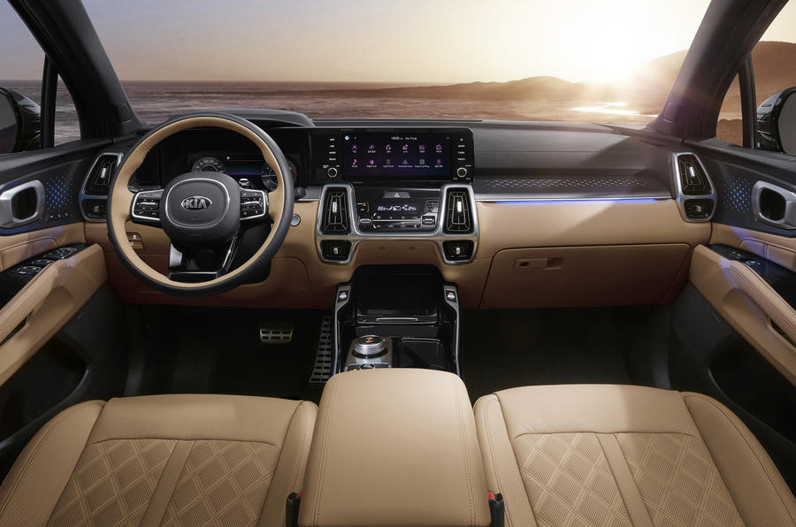 2020 Kia Sorento - static interior