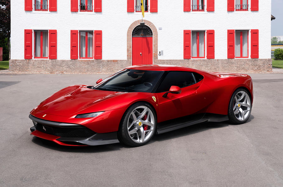 Ferrari SP38 one-off special revealed