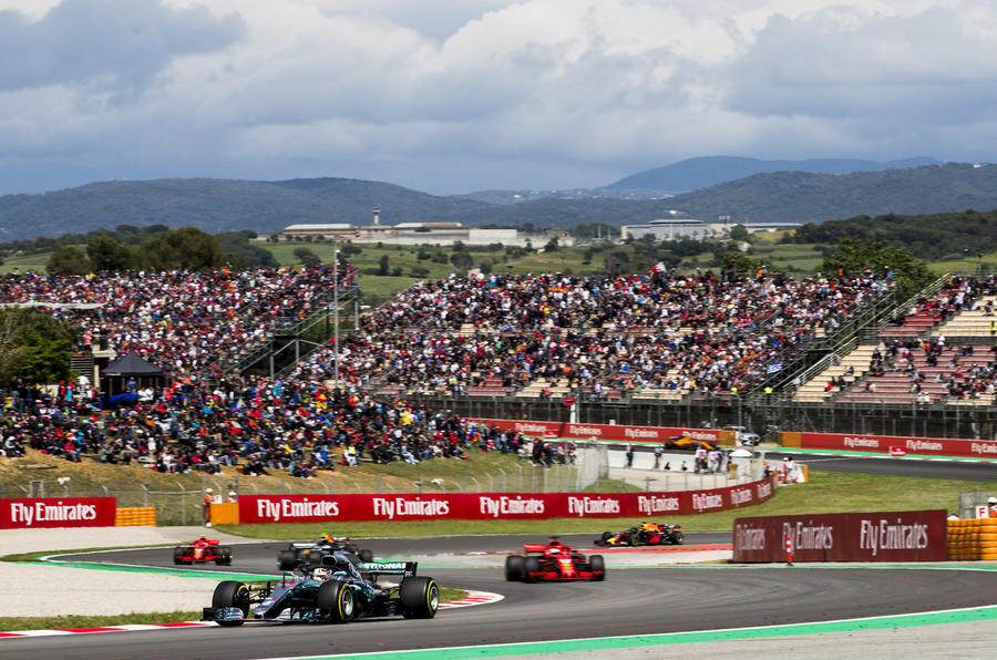Spanish GP: Hamilton wins in Mercedes one-two