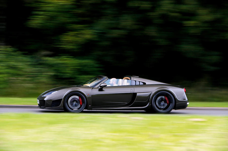 Noble M600 Speedster side profile