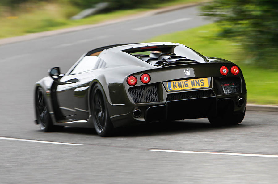 Noble M600 Speedster rear cornering