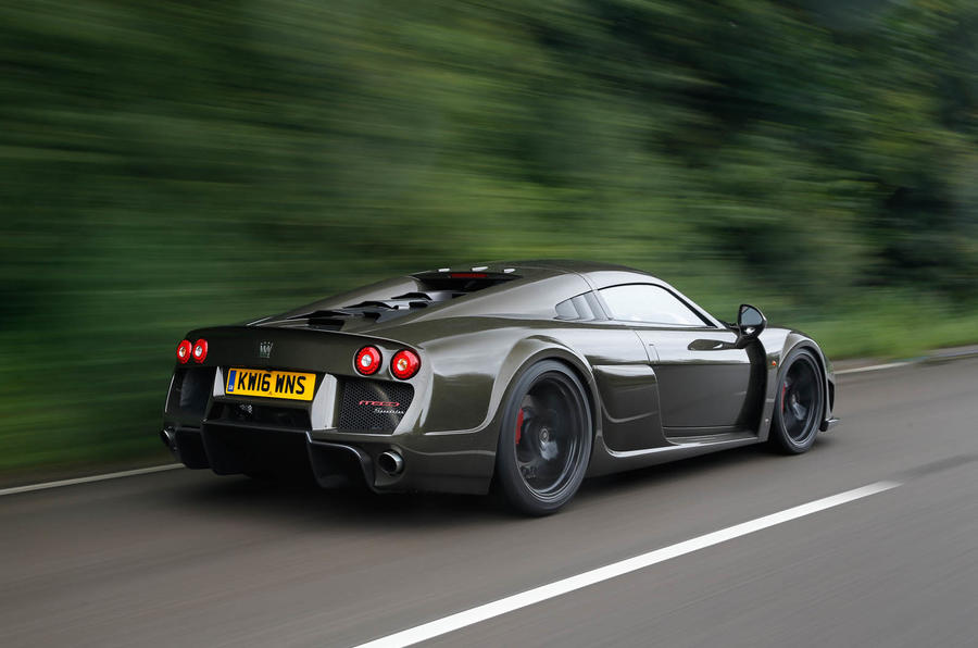 Noble M600 Speedster rear quarter
