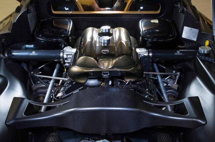 4.4-litre V8 Noble M600 Speedster engine
