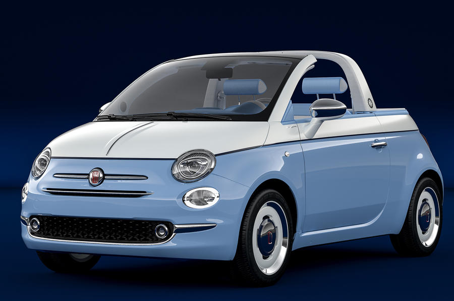 Fiat 500 spiaggina by garage italia is coachbuilt nod to for Garage fiat 500