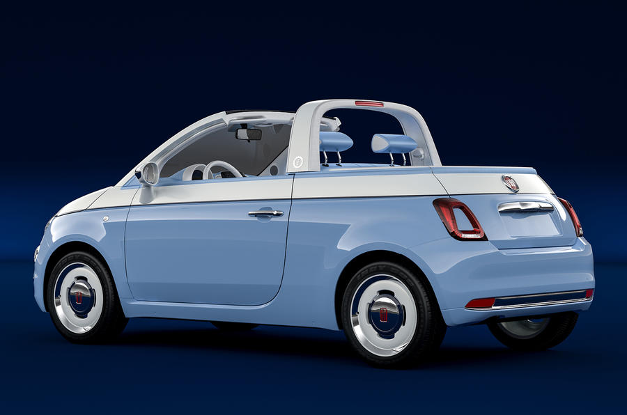 Fiat 500 Spiaggina by Garage Italia is coachbuilt nod to 1950s oddity