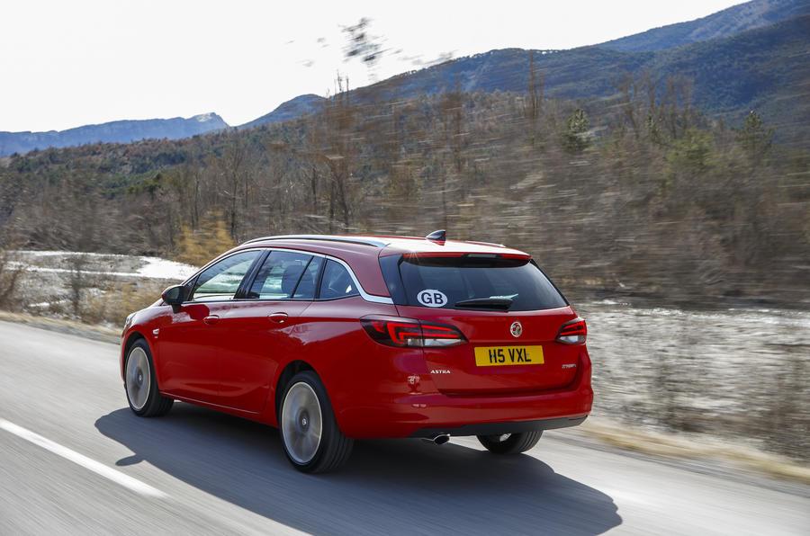 158bhp Vauxhall Astra Sports Tourer