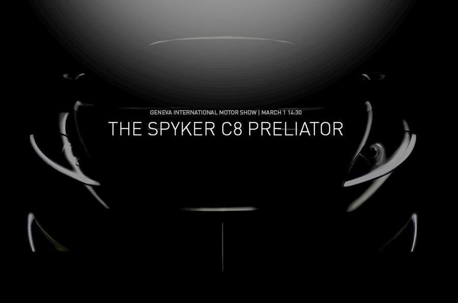 Spyker C8 Preliator teaser image