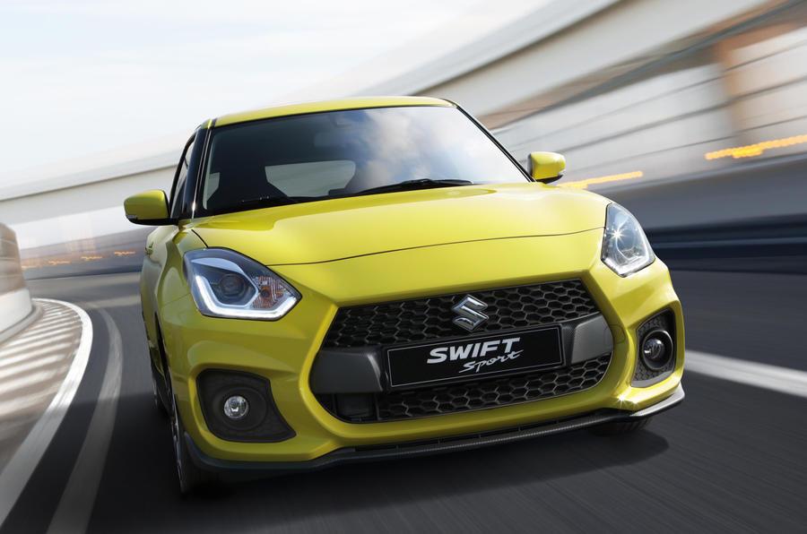 New Suzuki Swift Sport launched as 970kg featherweight warm hatch