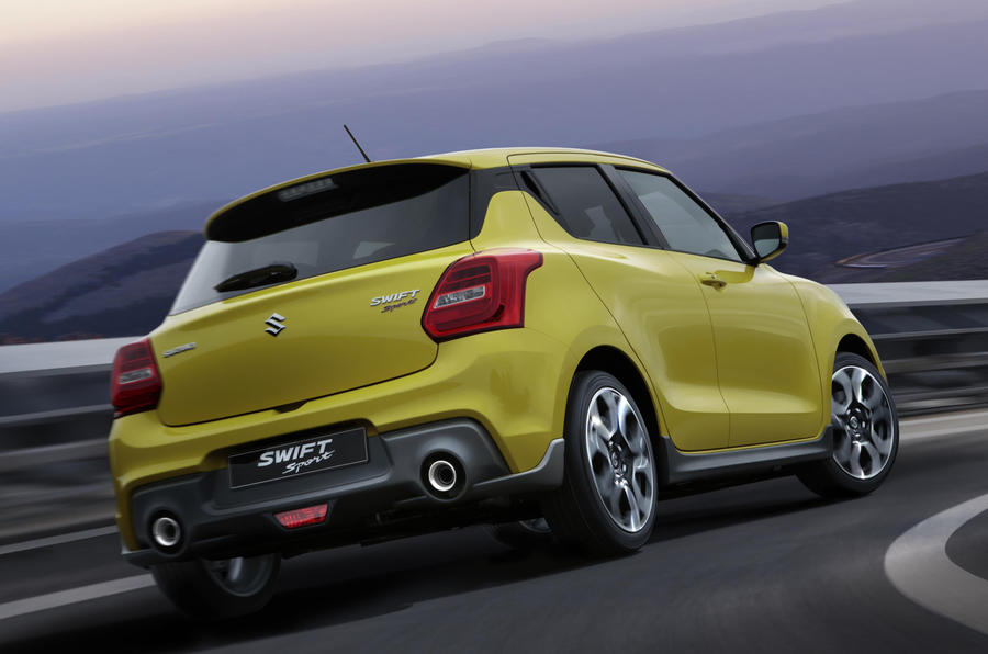 new suzuki swift sport launched as 970kg featherweight warm hatch autocar. Black Bedroom Furniture Sets. Home Design Ideas