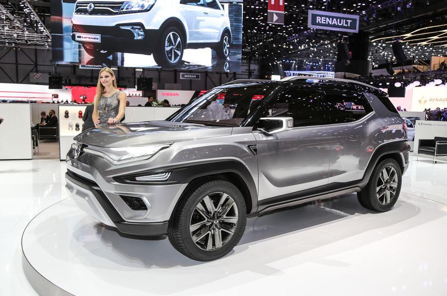 Ssangyong XAVL concept at the Geneva motor show