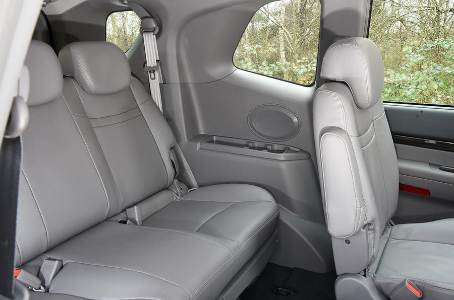 Ssangyong Turismo third row seat