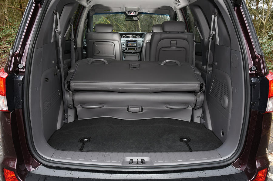 Ssangyong Turismo seating flexibility