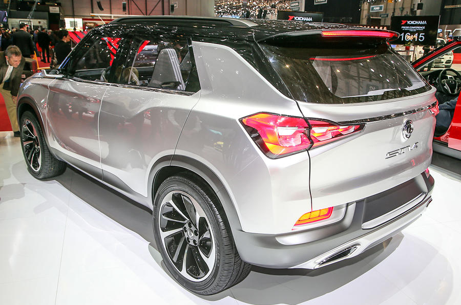 ssangyong siv 2 concept unveiled at geneva motor show autocar. Black Bedroom Furniture Sets. Home Design Ideas