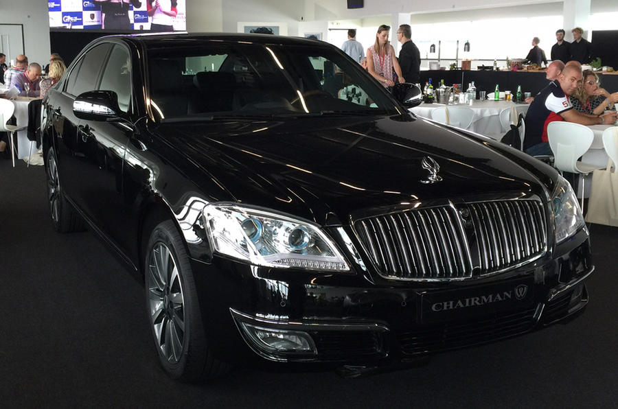 SsangYong Chairman W luxury saloon makes first UK appearance