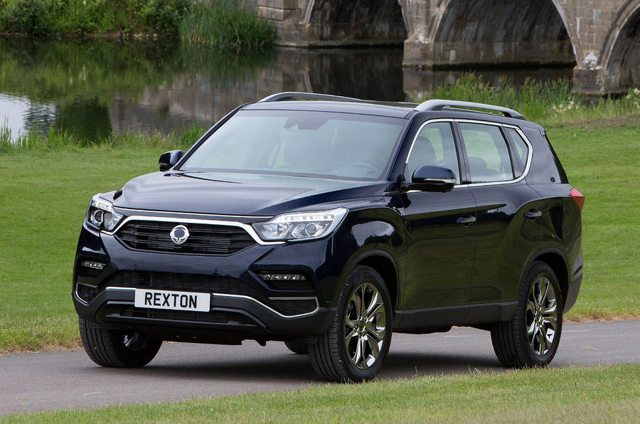 ssangyong rexton 2 2d ultimate auto 2017 uk review autocar. Black Bedroom Furniture Sets. Home Design Ideas