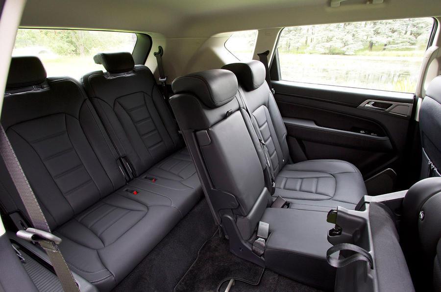 Ssangyong Rexton rear seats