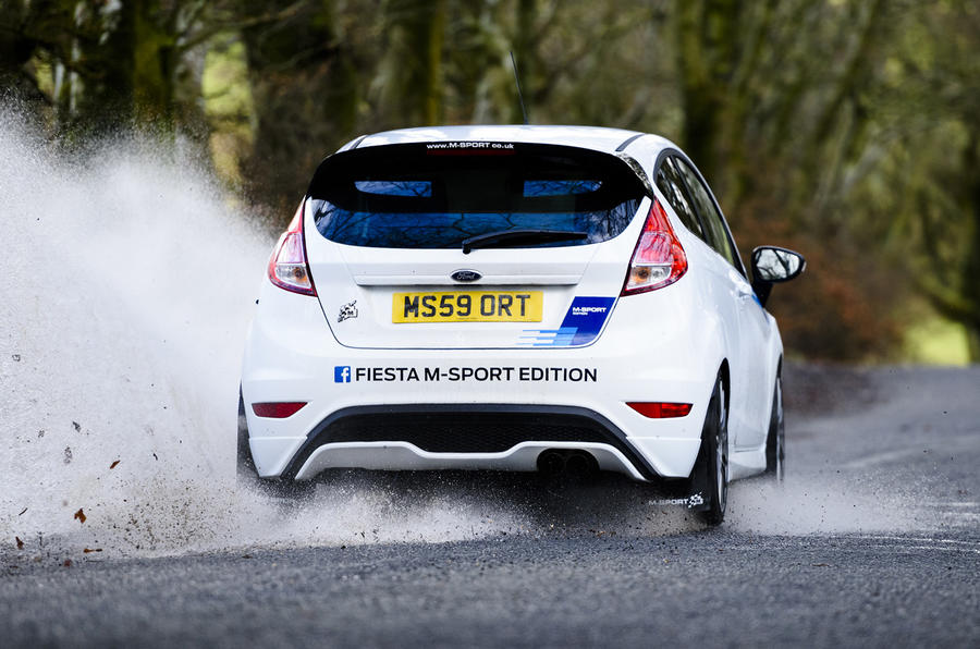 Ford Fiesta ST M-Sport rear