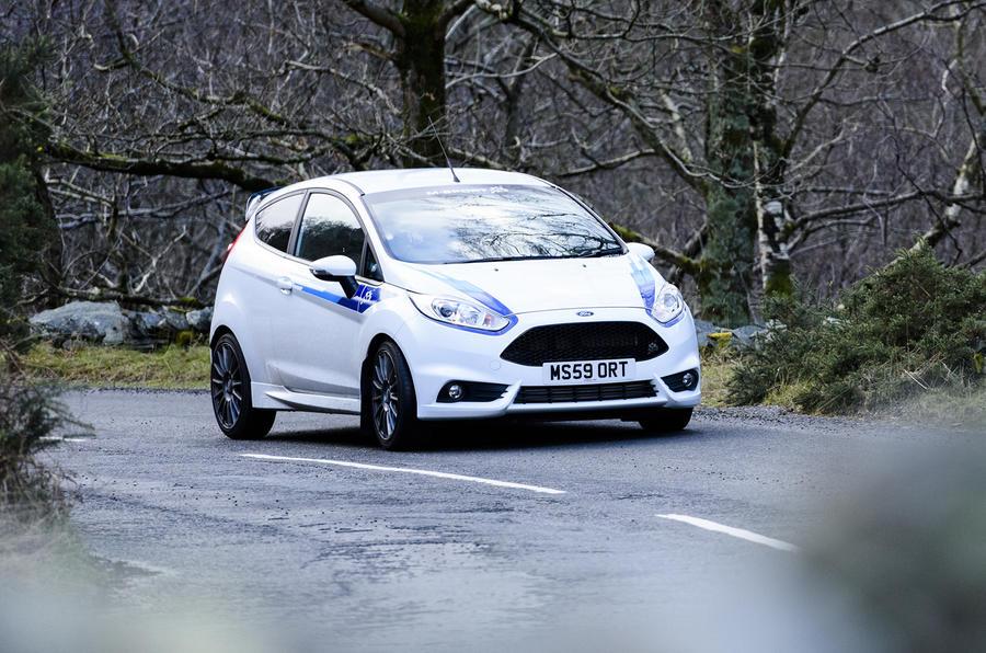 Ford Fiesta ST M-Sport cornering
