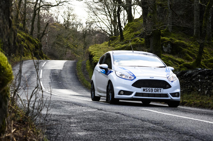 Ford Fiesta ST M-Sport front quarter