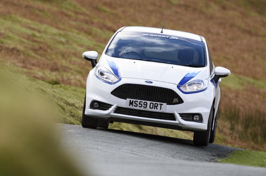 Ford Fiesta ST M-Sport hard cornering