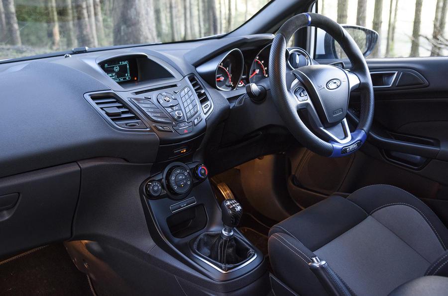 Ford Fiesta ST M-Sport dashboard