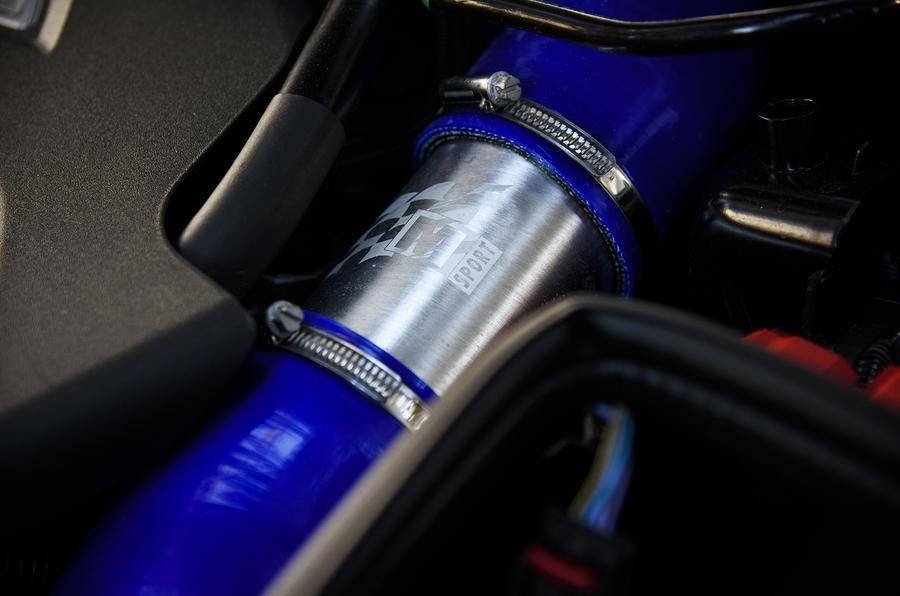 Ford Fiesta ST M-Sport piping