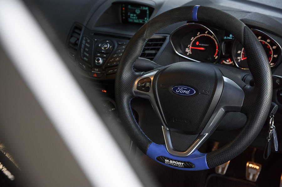 Ford Fiesta ST M-Sport steering wheel