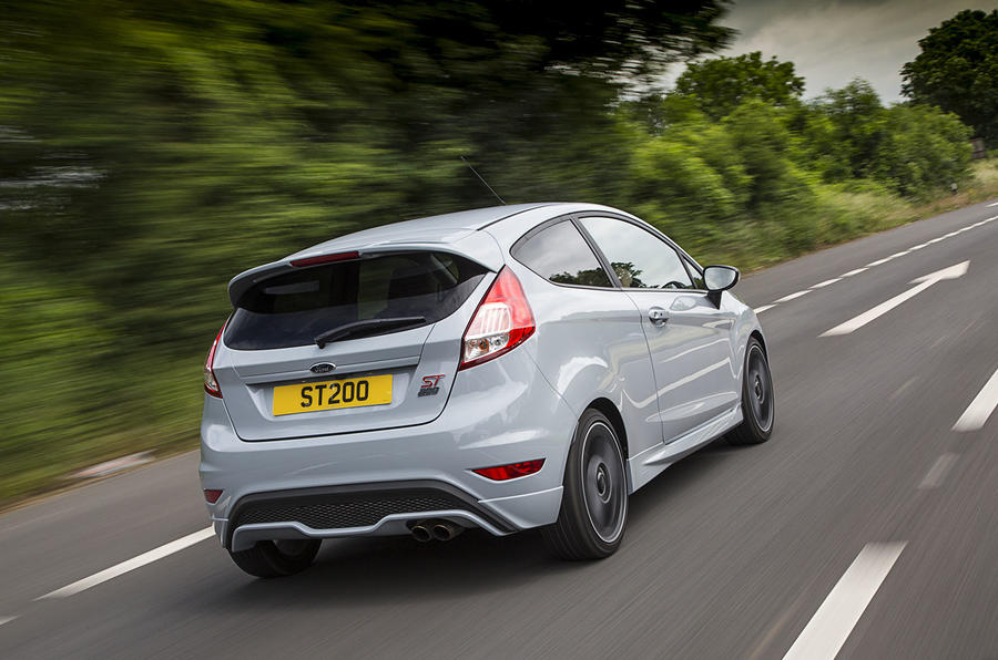 Ford Fiesta ST200 rear