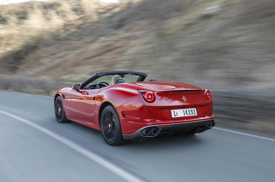 Ferrari California T rear