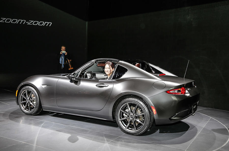 New hard-top Mazda MX-5 RF production begins | Autocar