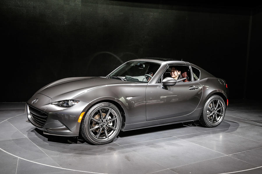 new hard top mazda mx 5 rf production begins autocar. Black Bedroom Furniture Sets. Home Design Ideas