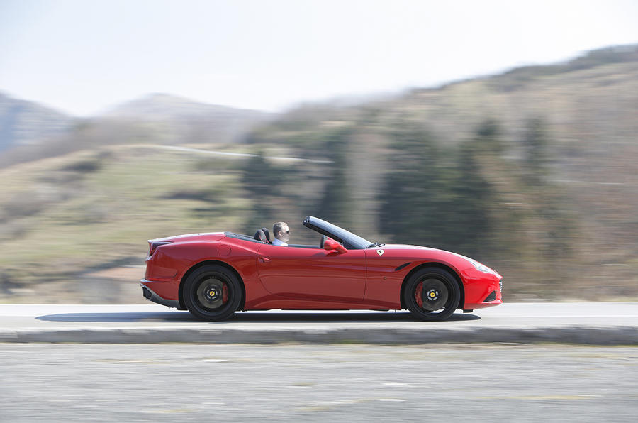 Ferrari California T side profile