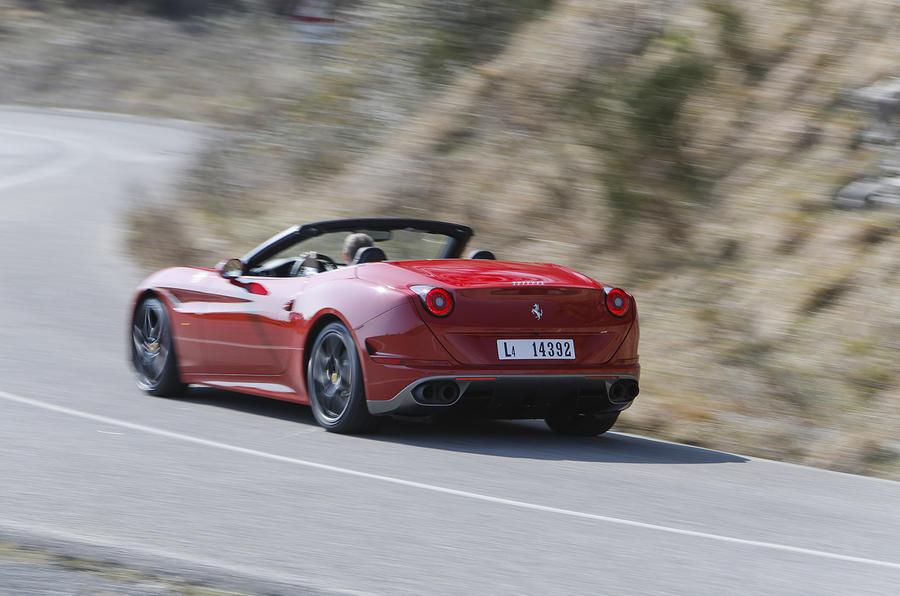 Ferrari California T Handling Speciale rear cornering