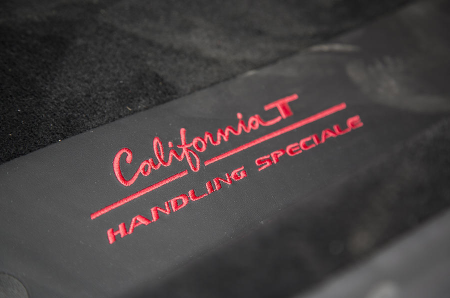 Ferrari California T Handling Speciale stitching