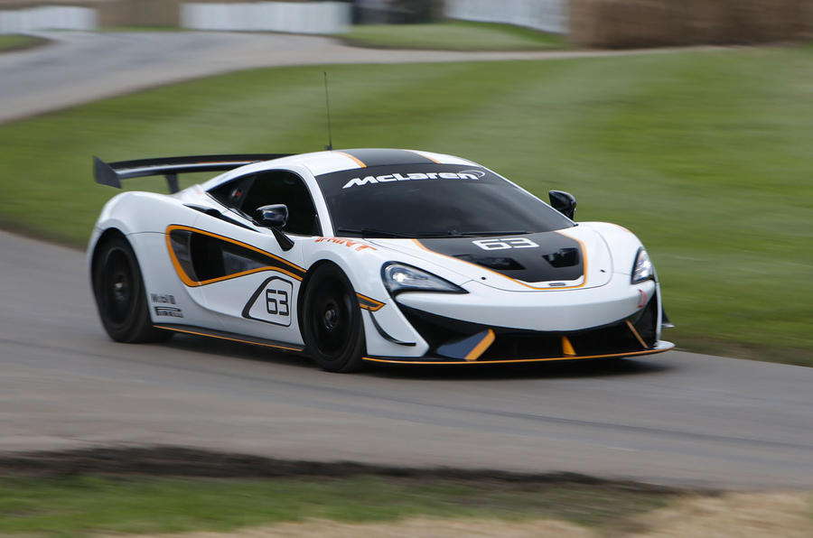 McLaren 570S Sprint 2016 Goodwood Festival of Speed